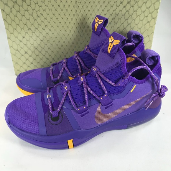 quality design 45084 d57b2 Nike Kobe AD Exodus Lakers Multiple Men's Sizes NWT